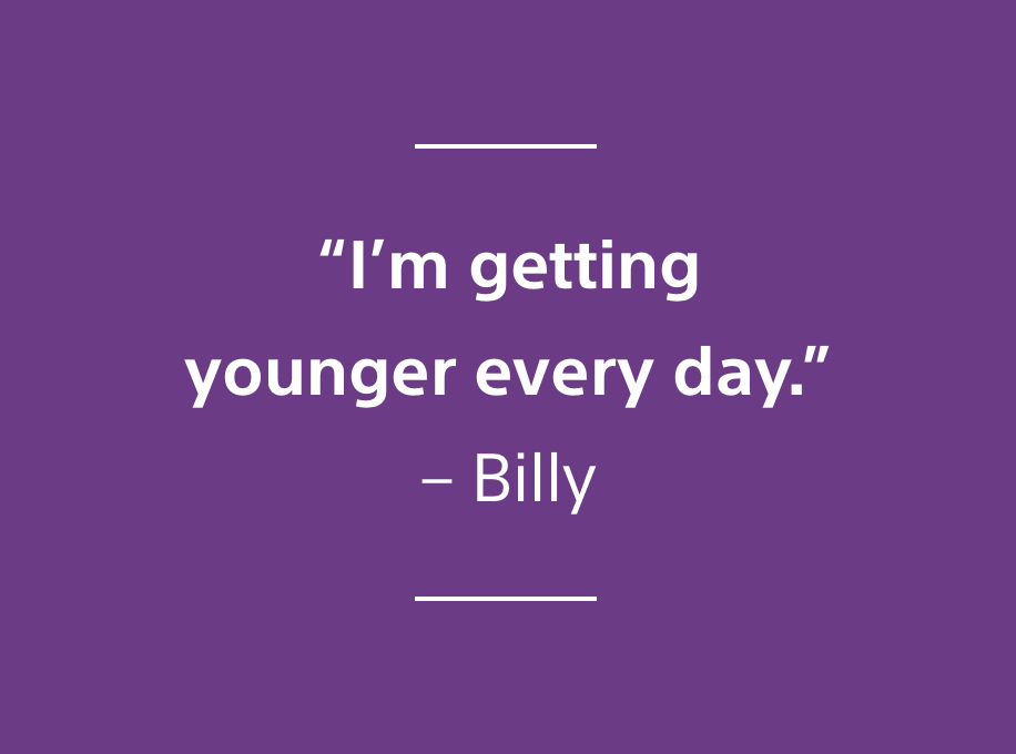 quote I'm getting younger every day